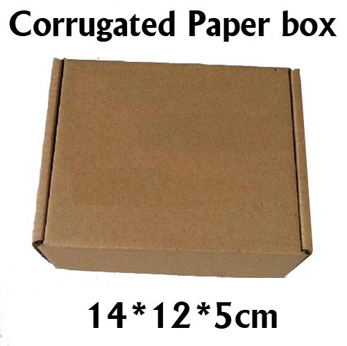 14*12*5cm 5 Kraft Corrugated Board Paper Packaging Box - Ningbo Huahui Co.,ltd store