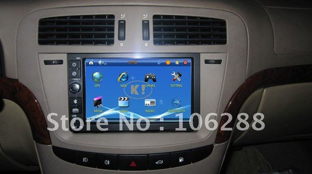 2DIN 7inch Digltal universal Car Computer with 3G,XP,GPS,WIFI