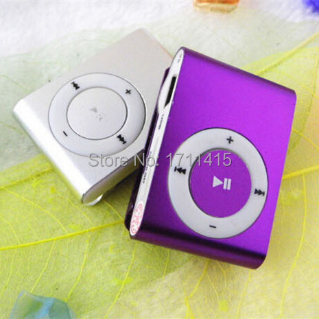 MINI clip Sport Music MP3 Player no Micro TF/SD card Slot with mini MP3 (TF Card not included)free shipping(China (Mainland))