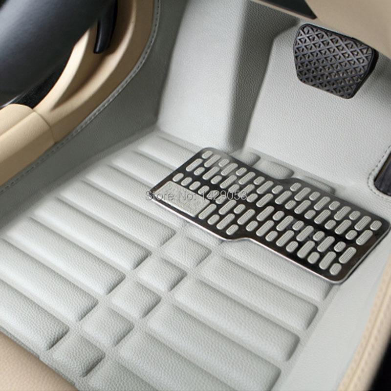 Car carpet Case for KIA K2 K3 K5 Carens Cerato Forte Sportage Sorento Mohave Soul RIO Car floor mats Anti-slip car styling(China (Mainland))