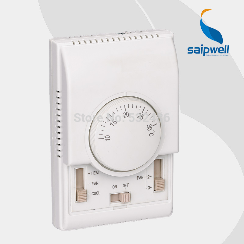 Floor Heating System Temperature Control Saipwell SP-1000B central Air-condition house room Mechanical thermostat switch(China (Mainland))