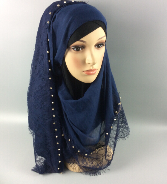 Aliexpress.com : Buy V28 gold ball short lace hijab ,shawl ...