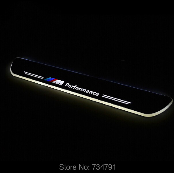 LED MOVING DOOR SILL PALTE BMW X3 2011 2012 2013 2014 SCUFF, led door sill plate,white blue red - guangzhoug joemy auto lights store