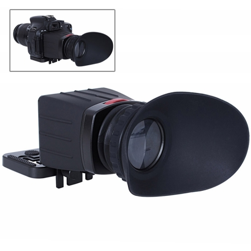 3.0X 3.0 inch LCD Screen View Finder for Canon EOS / Nikon / Olympus / Lumix Camera (SK-VF02)<br><br>Aliexpress