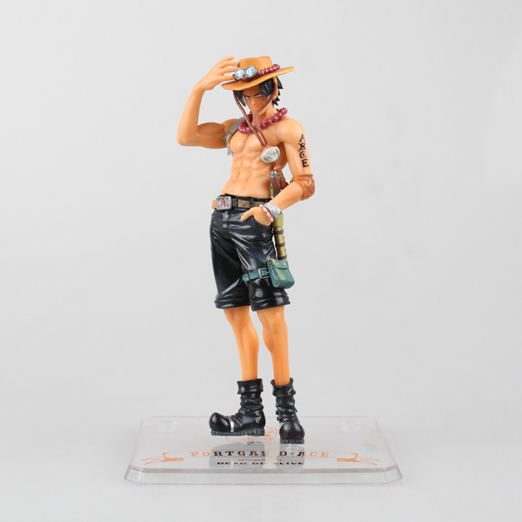 One Piece New World Anime Figuarts SPECIAL Megahouse MH POP Ace Assembling Figuarts ZERO Action Figure Limit 0682(China (Mainland))
