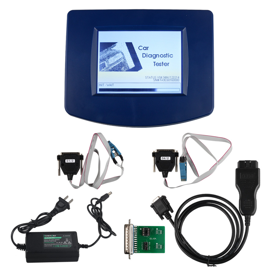 Low Cost Main Unit of V4.94 Digiprog III Digiprog 3 Odometer Programmer with OBD2 ST01 ST04 Cable(Hong Kong)