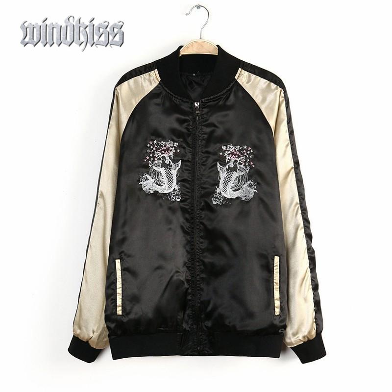 Online Buy Wholesale japan baseball jacket woman from China japan ...