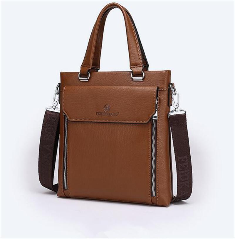 Фотография High Quality Men Briefcase Bag Fashion Men Handbag Leisure Men Business Bag Large Capacity Laptop Bag Men Brand Shoulder Bag