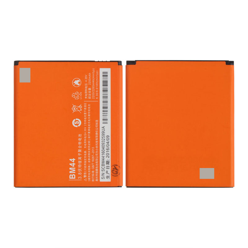 100% Original Backup For Xiaomi Redmi 2 BM44 Battery Smart Mobile Phone+ + Tracking Number