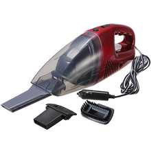 Mini Red Car Portable Handheld Lightweight High Power Wet and Dry Vacuum Cleaner(China (Mainland))