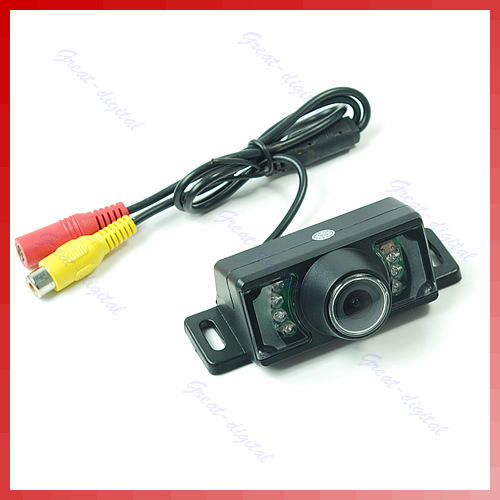 Free Shipping Special Waterproof Night Version Car Rear View Backup Reverse Camera Review Reversing Kit for Universal Version