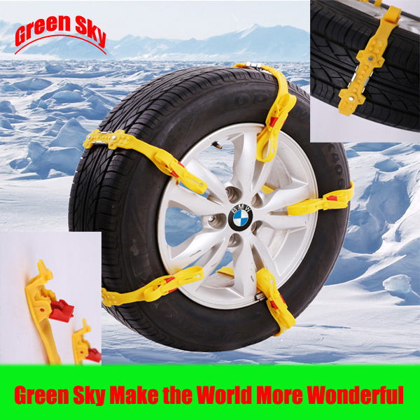 2015 New Arrival car with snow chains for Snow/Mud/Ice/Desert Sand/Climbing Road Usage(China (Mainland))