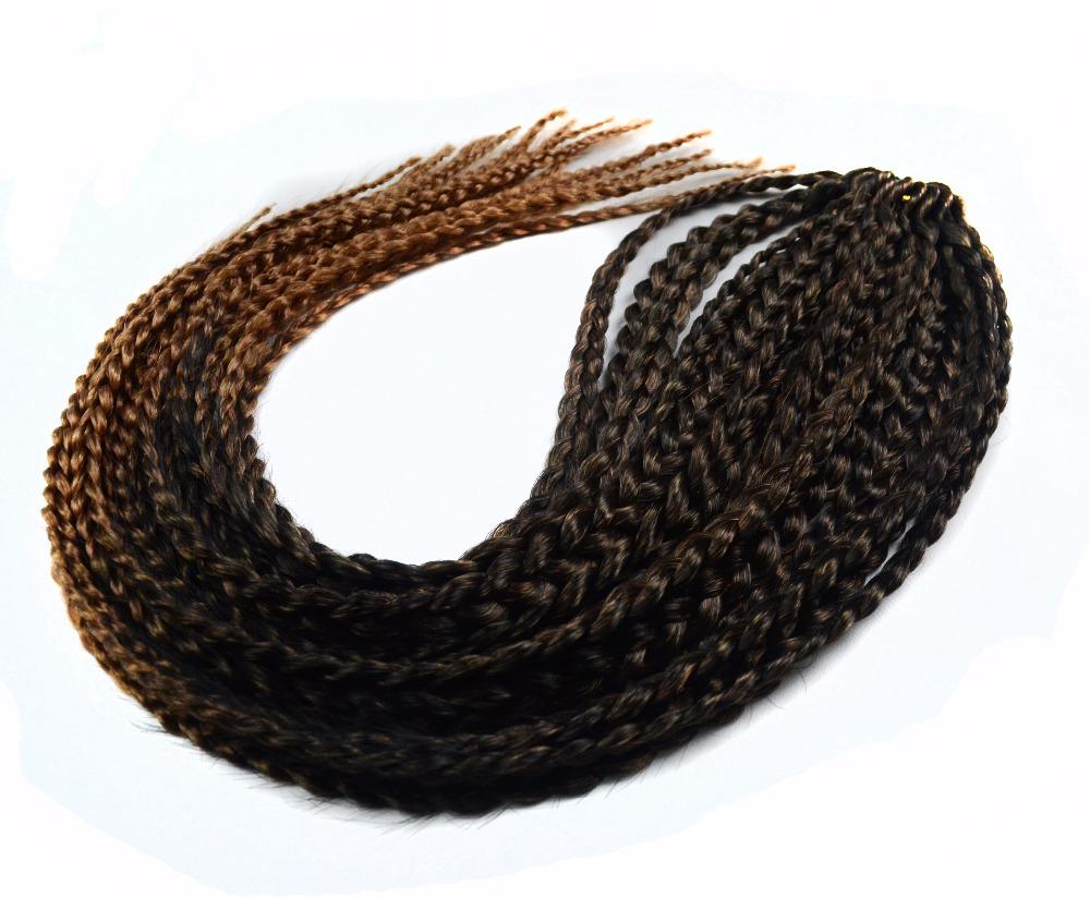 "Mambo Twist Crochet Braid Human afro Box Braiding Hair Bulk Extensions 60CM,24"" ,100% Kanekalon S/M/18pcs/Pack,L/14pcs/Pack Wigs"