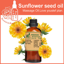 100% pure plant base oils Sunflower seed oil 100ml handmade soap raw materials Anti-agingNatural oil Carrier oil(China (Mainland))