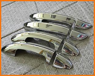 FIT For VW PASSAT B6 3C 2006 2007 2008 2009 2010 2011 Passat CC 2009-2012 Chrome Car Door Handle Cover Trim Overlay Catch Cap
