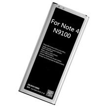 Buy Note 4 NFC EB-BN910BBE 3000mah High Replacement Phone Battery Samsung Galaxy Note4 IV N910F N910H N910S N910U N910L for $14.37 in AliExpress store