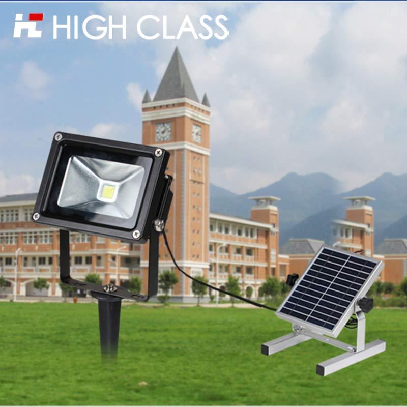 High Class Good Quality IP65 Waterproof 5W/10W/15W Solar Floodlight LED Flood Light for Villa Garden Park Lawn Lighting(China (Mainland))