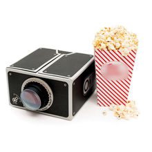 Cardboard Smartphone Projector DIY FOR Mobile CELL Smart Phone Portable Cinema Movie for SAMSUNG LG(China (Mainland))