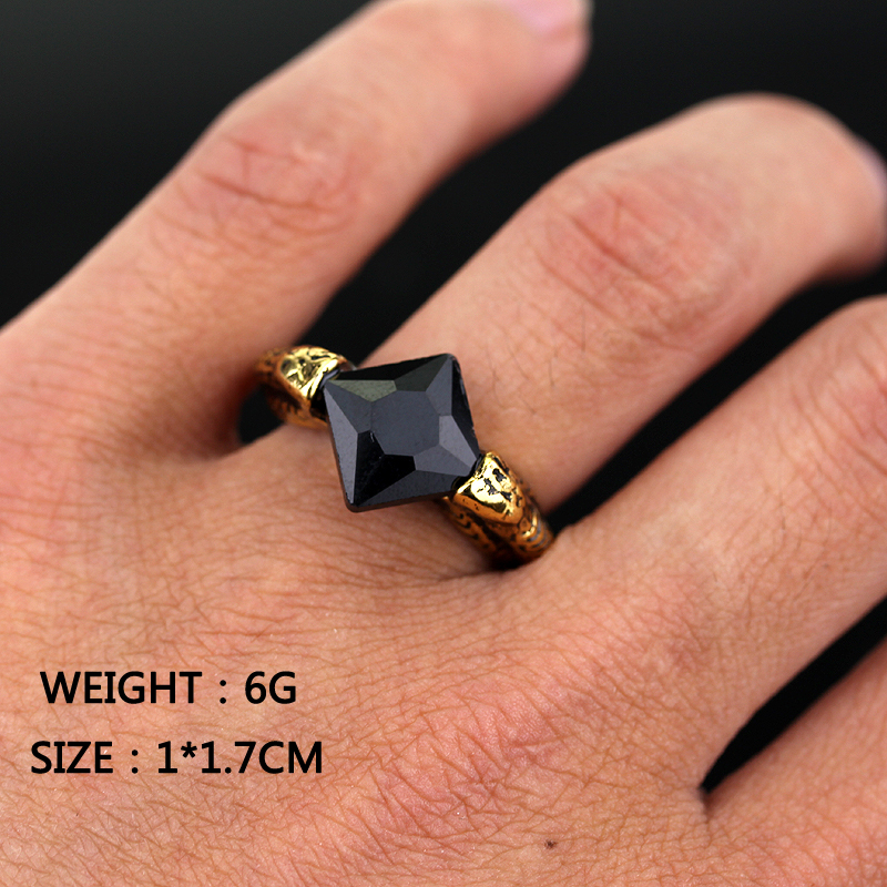 Free Shipping New Product Unique Horcrux Ring Europe America Movie Men Rings Cheap Vintage Ring Jewelry(China (Mainland))