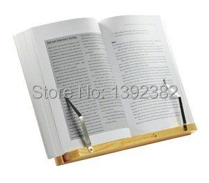 bois lutrin ordinateur portable ipad titulaire livre stand dans serre livres de fournitures de. Black Bedroom Furniture Sets. Home Design Ideas