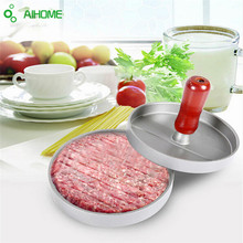 Hamburger Pressure Kitchen DIY Mold Aluminum Alloy Hamburg Pressing Machine Meat Maker Newest(China (Mainland))