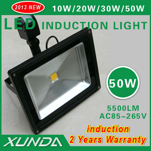 2013 NEW AC85-265 PIR Motion Sensor led LED Floodlight  50w led outdoor landscape lighting<br><br>Aliexpress