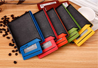 New arrived fashion porte feuille male leather short slim thin wallets purses carteira masculina monederos carteras hombre 5