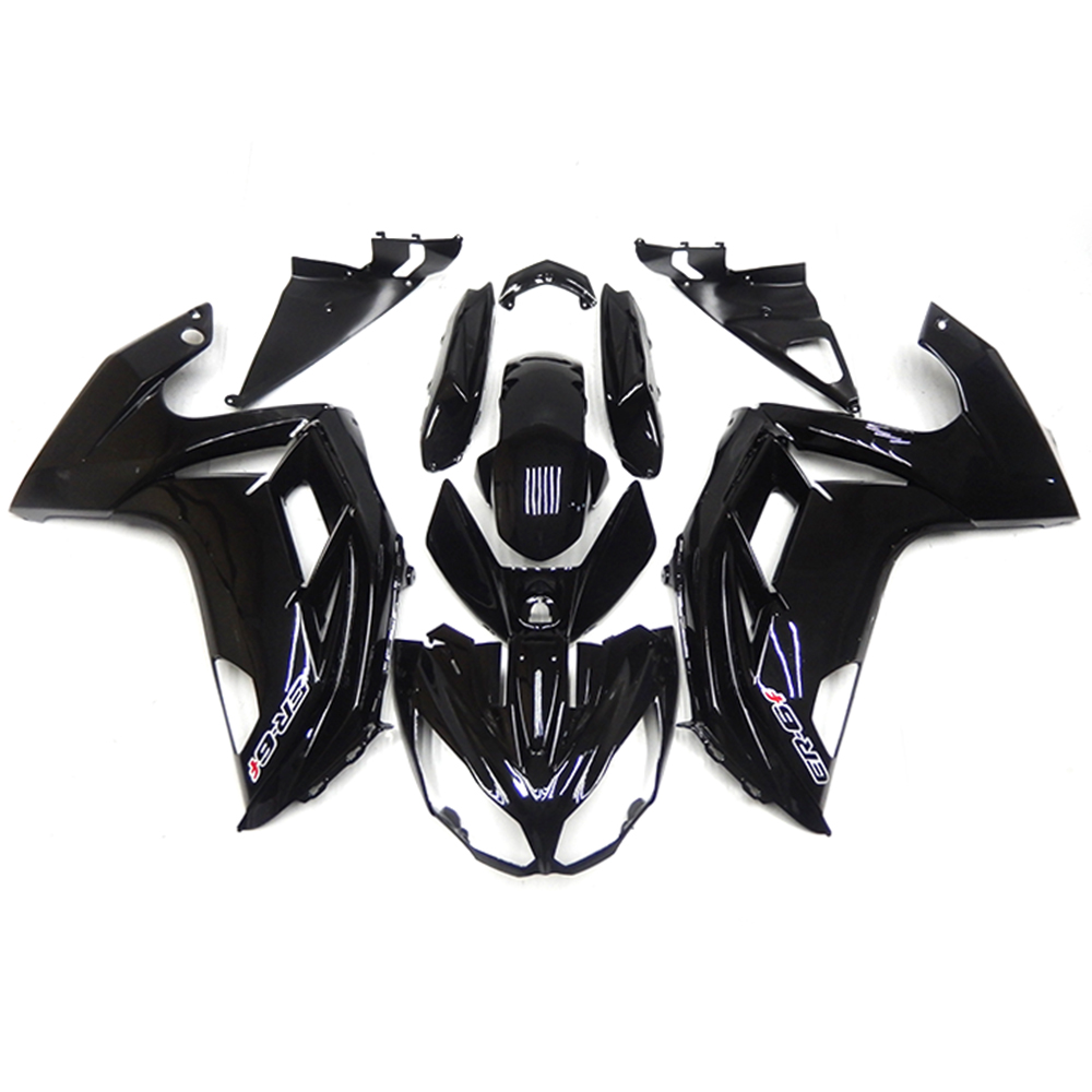Fairings For Kawasaki ER-6f Ninja 650r 12 13 14 2012 2013 2014 ABS Plastic Motorcycle Fairing Kit Bodywork Cowling Gloss Black(China (Mainland))