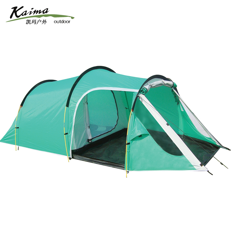 2014New style!3-4persons one bedroom &amp; one living room double layer family and party camping tent<br><br>Aliexpress