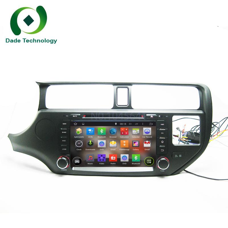 2 din car dvd player android 5.1.1 for KIA RIO K3 dual din car radio GPS car multimedia stereo RK3188 Quad core cpu HD 1024*600(China (Mainland))