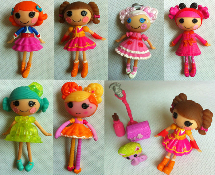 10PCS/LOT MGA Lalaloopsy Mini Dolls with 4 pets(accessories) 3 inch For Girl's Toy PlayHouse Each Unique brinquedos for kids(China (Mainland))