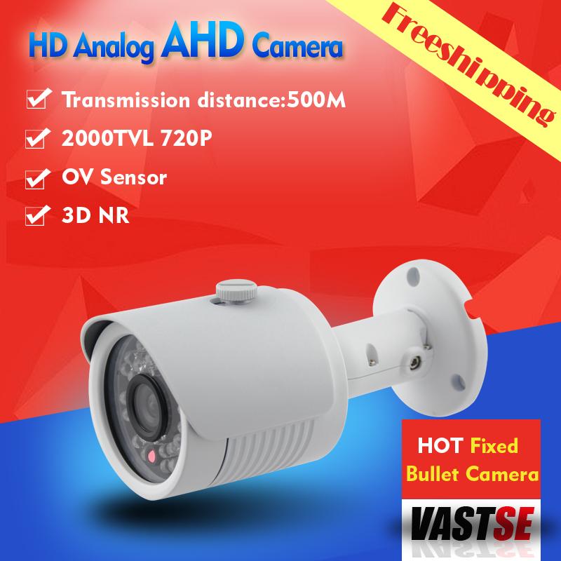 AHD Camera CCTV 1.0MP 720P HD Analog indoor/outdoor Waterproof IP66 CCTV Camera BNC 5*30IR +Freeshipping<br><br>Aliexpress