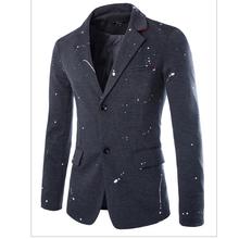 2015  Aliexpress Top Sale Mens Fashion Suit Jacket Unique Cheap Chinese Winter Suit Jackets For Men Quality European Jacket S263(China (Mainland))
