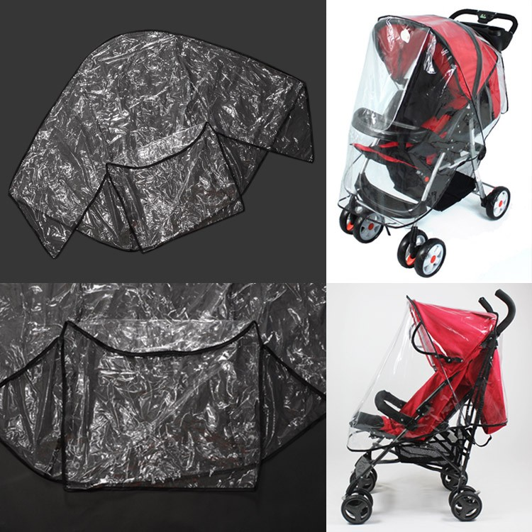 2016 Real New Dsland Bugaboo Fashion Universal Waterproof Cover For Baby Carriage Stroller To Protect Child From Rain Wind(China (Mainland))
