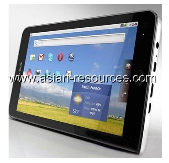"Wholesale Free Shipping Dreambook 7"" Multitouch Android 2.2 GPS 3G Tablet Phone"