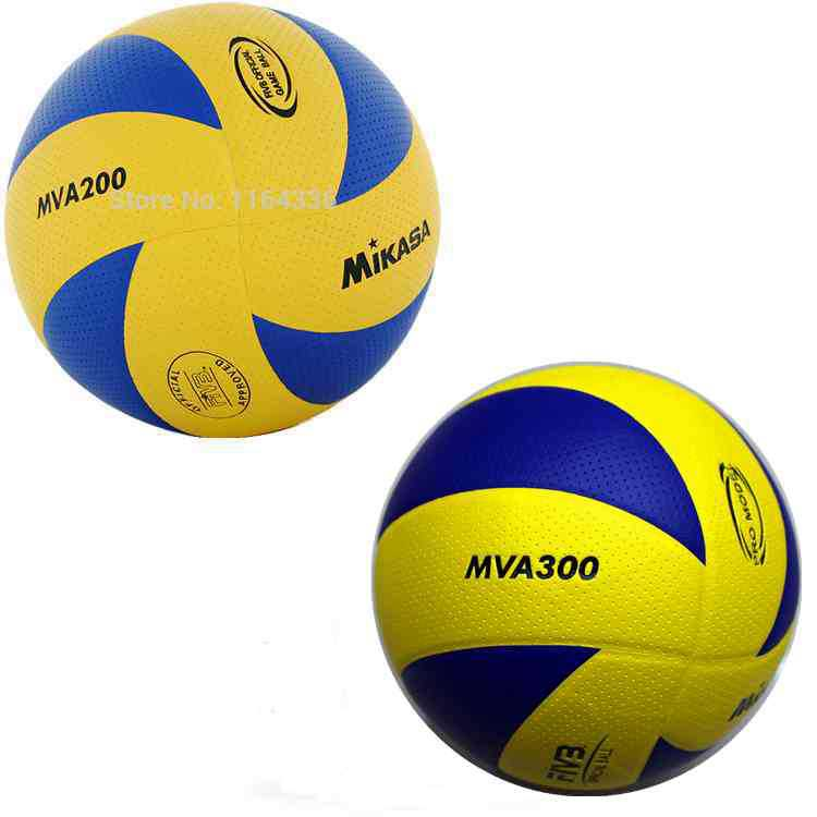 3pcs/set 2014 size 5 PU volleyball official match MVA200 and MVA 300 Volleyballs indoor training competition volleyball balls(China (Mainland))