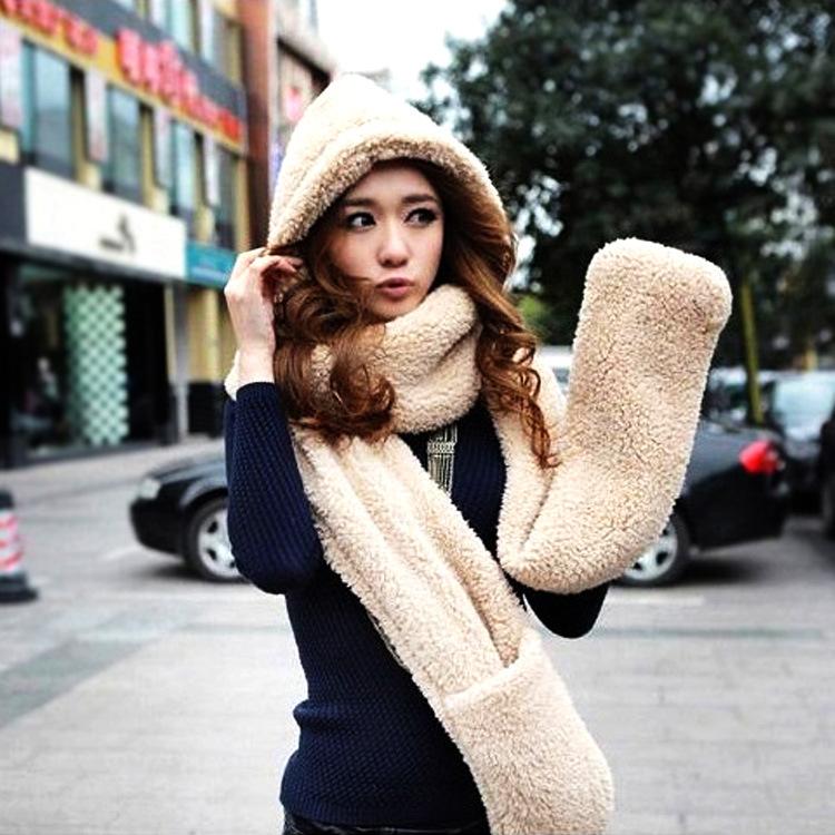 Winter autumn 2016 Solid Warm Scarf Plush Scarf New Design Unisex Scraf Couple Lovers Scarf 155cm-85cm 7978(China (Mainland))