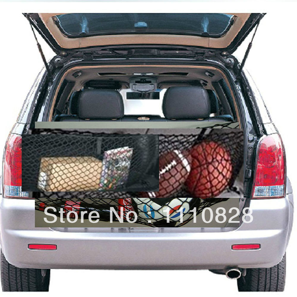 Free Shipping Luggage Trunk Envelope Elastic Organizer Cargo Net B For BMW X5 2002-2012(China (Mainland))