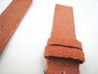 к 2015 году новых прибыл жемчужина кожи розовый Группа 18 мм женщин высокого качества подлинной кожаный ремешок 18