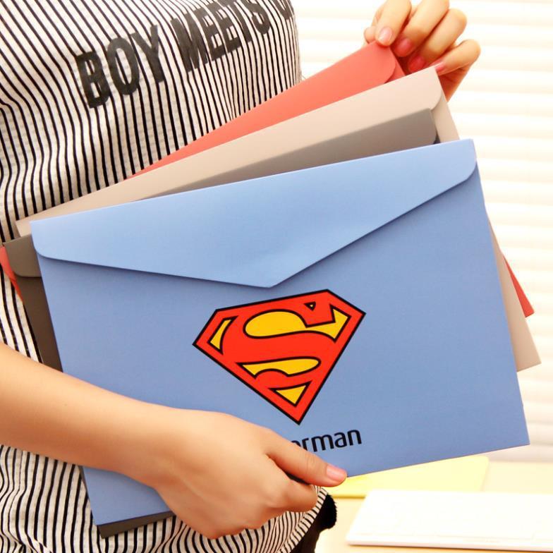 Гаджет  Creative American Heroes Paper File Folder Document Filing Bag Stationery Bag None Офисные и Школьные принадлежности