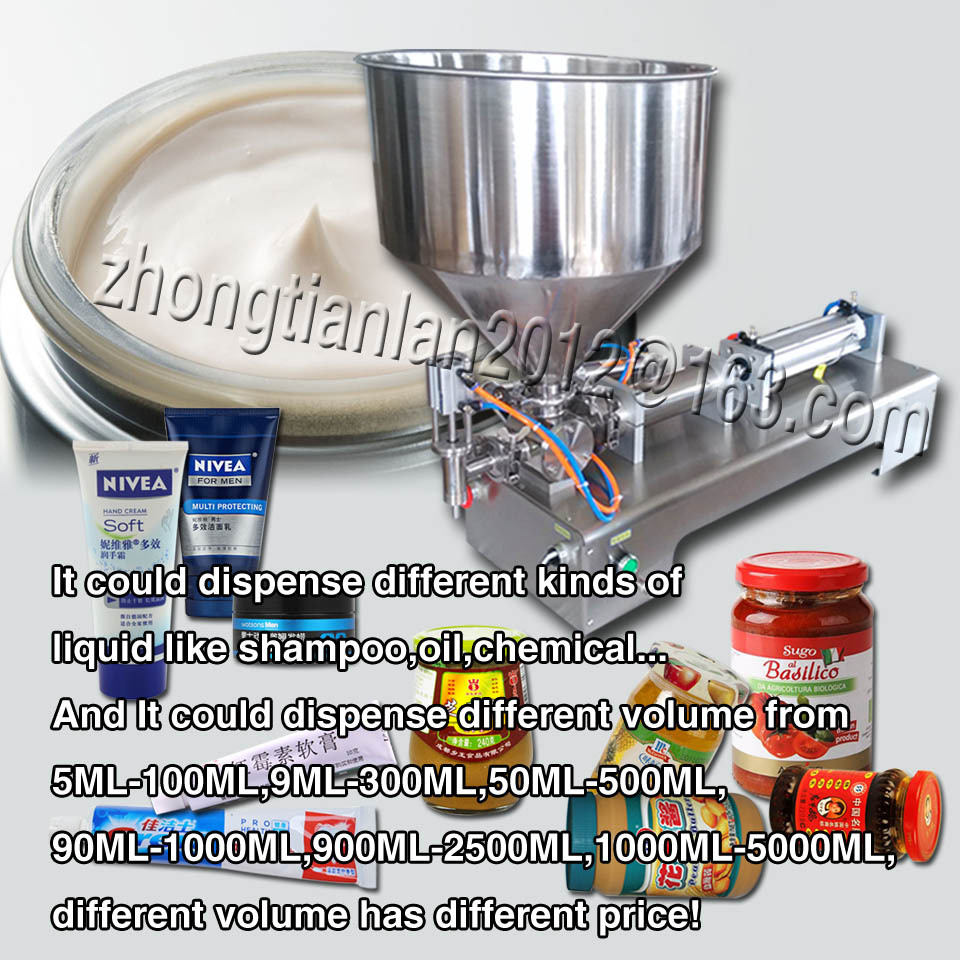 Brand new filling mineral water/oil/cleanser, liquid paste filler machine,1000ML-5000ML - YOLI Group company store