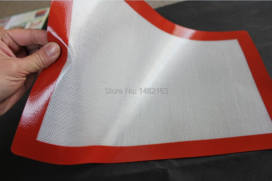 Large Non Stick Square Silicone Baking Mat Use As A Cookie
