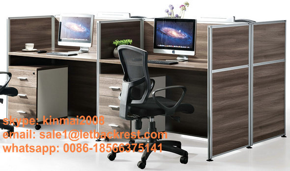 Workstation Partition 4 Seat staff Computer office Table / desk(China (Mainland))