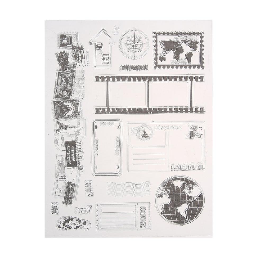 Großhandel Großhandel Clear Briefmarken Diy Silikon Siegel ...