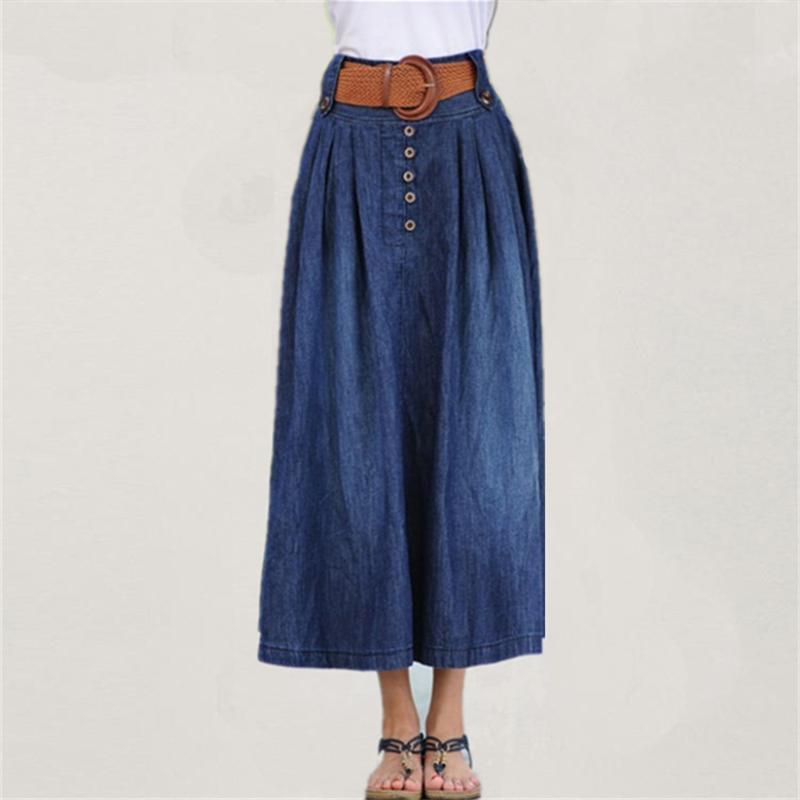 Wholesale Long Denim Skirts For Women