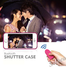 5pc Wireless Bluetooth Camera Selfie Photo Shutter Release Self Timer Case for iPhone 5 5S Shutter Case free shipping freetrack