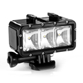 Fashion Underwater Diving Sports Light Portable Battery Waterproof LED Video Lighting for LD4000 LD6000 LD 4K