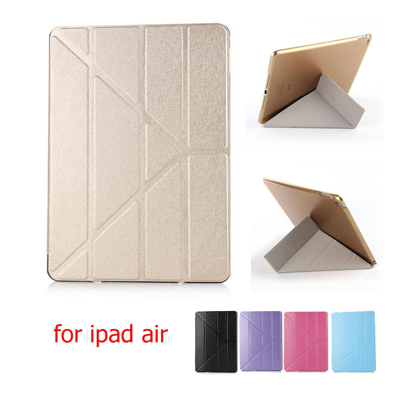 2015 for iPad Air 1 Case Smart Leather Case Cover for iPad Air1 Ultra Slim Smart Cover Case for iPad 5 Fashion Transformers     <br><br>Aliexpress