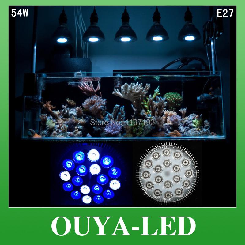 Освещение для растений Ouya 10 E27 54W 6 white12 DHL Aquarium Lights