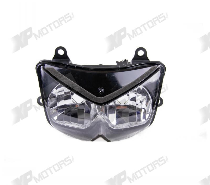 Motorcycle Clear Lens Headlight Head light Headlamp Assembly For Kawasaki Z750 ZR750 2004 2005 2006 Brand New(China (Mainland))